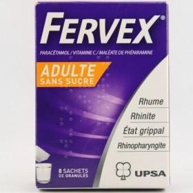 FERVEX sans sucre Glé s buv 8Sach