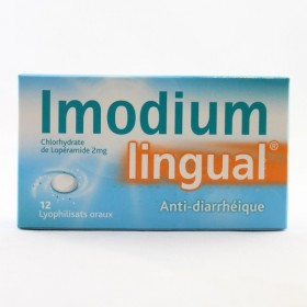 IMODIUMLINGUAL 2 mg Lyophilisat oral Plq/12