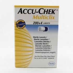 ACCU CHEK MULTICLIX Lancette B/204